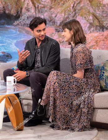 Tom York and Ellise Chappell