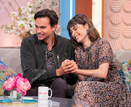 Stock Image of Tom York and Ellise Chappell