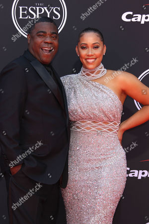 Stock Picture of Tracy Morgan and Megan Wollover