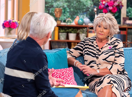 Phillip Schofield and Holly Willoughby with Maggie Oliver