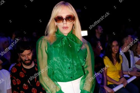 Editorial picture of Ana Locking show, Front Row, Mercedes Benz Fashion Week, Madrid, Spain - 09 Jul 2019