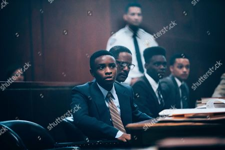 Caleel Harris as Young Antron McCray, Blair Underwood as Bobby Burns, Ethan Herisse as Young Yusef Salaam and Marquis Rodriguez as Young Raymond Santana
