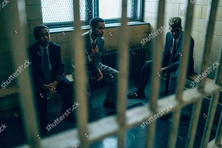 Asante Blackk as Young Kevin Richardson, Marquis Rodriguez as Young Raymond Santana and as Jharrel Jerome as Korey Wise