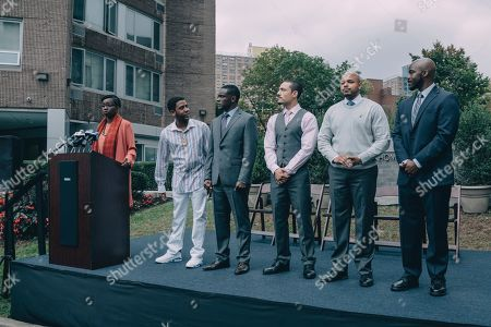 Jharrel Jerome as Korey Wise, Chris Chalk as Yusef Salaam, Freddy Miyares as Raymond Santana, Justin Cunningham as Kevin Richardson and Joven Adepo as Antron McCray