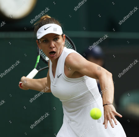 Editorial picture of HeadlineWimbledon Tennis Championships, Day 5, The All England Lawn Tennis and Croquet Club, London, UK - 05 Jul 2019