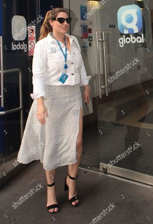 Kelly Brook leaving Global Radio