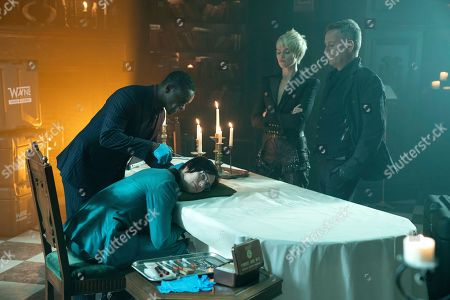 Chris Chalk as Lucius Fox, Cory Michael Smith as Edward Nygma, Erin Richards as Barbara Kean and Sean Pertwee as Alfred Pennyworth