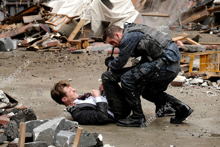 Benjamin McKenzie as James Gordon and Shane West as Eduardo Dorrance/Bane