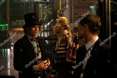 Benedict Samuel as Jervis Tetch, Francesca Root-Dodson as Ecco and Benjamin McKenzie as James Gordon