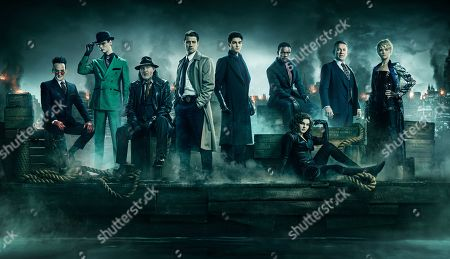 Robin Lord Taylor as Oswald Cobblepot/Penguin, Cory Michael Smith as Edward Nygma/The Riddler, Donal Logue as Detective Harvey Bullock, Benjamin McKenzie as Detective James Gordon, David Mazouz as Bruce Wayne, Chris Chalk as Lucius Fox, Camren Bicondova as Selina Kyle/the future Catwoman, Sean Pertwee as Alfred Pennyworth and Erin Richards as Barbara Kean