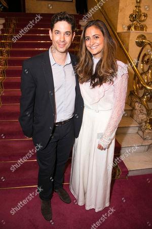 Adam Garcia and Nathalia Garcia