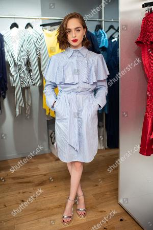 Editorial photo of Georgia Hardinge's new store dinner, London, UK - 11 Jul 2019