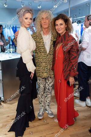 Editorial picture of Georgia Hardinge's new store dinner, London, UK - 11 Jul 2019
