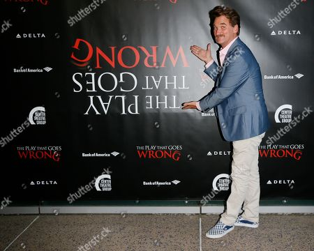 Editorial picture of 'The Play That Goes Wrong' opening at Ahmanson Theatre, Los Angeles, USA - 10 Jul 2019