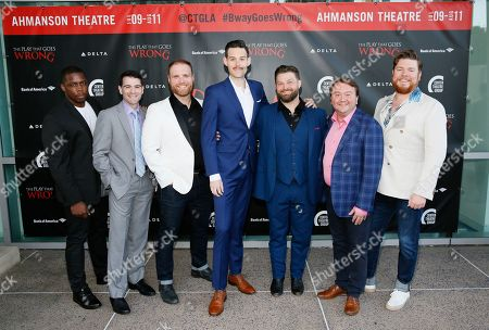 Editorial photo of 'The Play That Goes Wrong' opening at Ahmanson Theatre, Los Angeles, USA - 10 Jul 2019