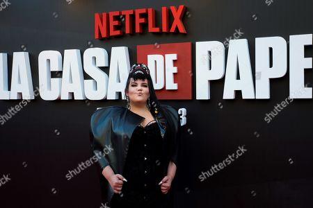 Editorial image of Presentation of the third season of 'La Casa De Papel' in Madrid, Spain - 11 Jul 2019