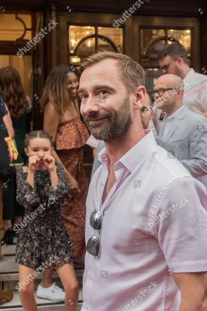 Stock Image of Charlie Condou attends the press night performance