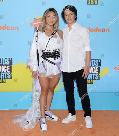 Chloe Kim and boyfriend Toby Miller