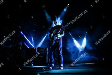 Leader of Scottish band Mogwai, Stuart Braithwaite, performs live on the first day of 2019 Alive Festival in Oeiras, outskirts of Lisbon, Portugal, 11 July 2019. The festival runs from 11 to 13 July.