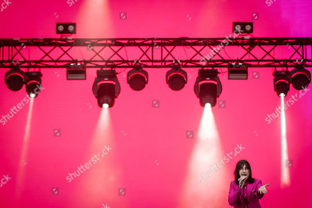 Leader of British band Primal Scream, Bobby Gillespie, performing live on the second day of 2019 Alive Festival, in Oeiras, outskirts of Lisbon, Portugal, 12 July 2019. The 13th edition of the festival runs from 11 to 13 of July.