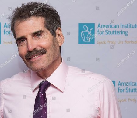 """John Stossel attends the 13th annual America Institute for Stuttering """"Freeing Voices Changing Lives"""" benefit gala at Guastavino's, in New York"""