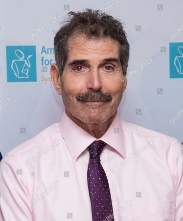 """Stock Photo of John Stossel attends the 13th annual America Institute for Stuttering """"Freeing Voices Changing Lives"""" benefit gala at Guastavino's, in New York"""