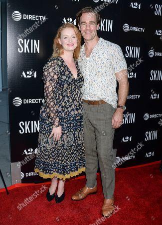 Kimberly Brook and James Van Der Beek