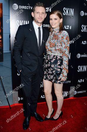 Jamie Bell and wife Kate Mara