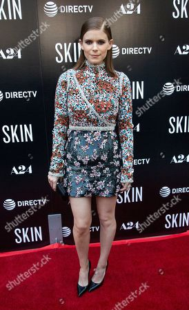 """Kate Mara attends the LA Special Screening of """"Skin"""" at the ArcLight Hollywood, in Los Angeles"""