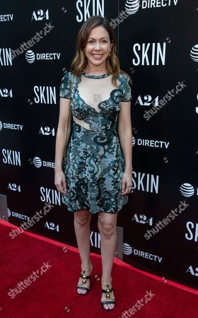 "Stock Photo of Tommee May attends the LA Special Screening of ""Skin"" at the ArcLight Hollywood, in Los Angeles"