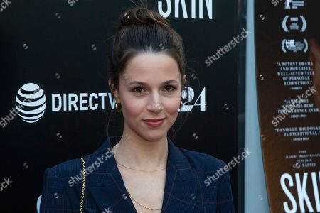 """Alona Tal attends the LA Special Screening of """"Skin"""" at the ArcLight Hollywood, in Los Angeles"""