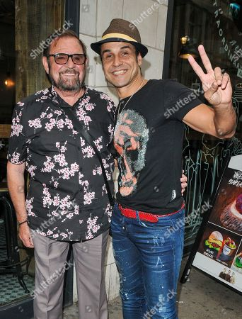 Stock Image of Chico Slimani and guest