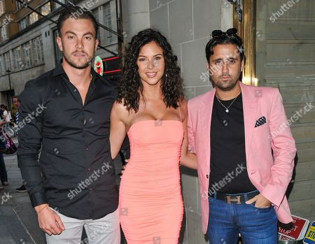 Sam Mucklow, Shelby Tribble and Liam Blackwell