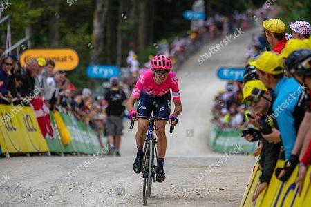 Stock Photo of Tejay Van Garderen during stage 6.