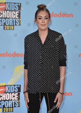 Editorial photo of Nickelodeon Kids' Choice Sports Awards, Arrivals, Barker Hanger, Los Angeles, USA - 11 Jul 2019