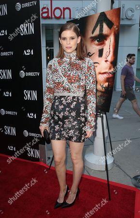 Editorial image of 'Skin' Film Premiere, Arrivals, ArcLight Cinemas, Los Angeles, USA - 11 Jul 2019