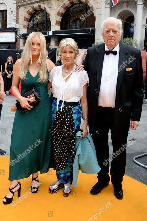 Eva Rice, Lady Jane Rice and Sir Tim Rice