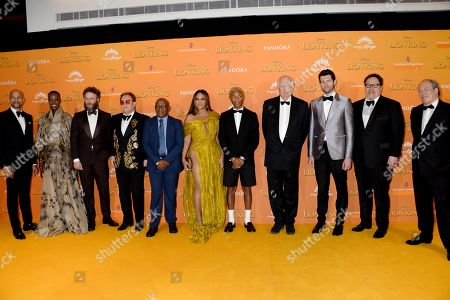 Editorial image of 'The Lion King' film premiere, London, UK - 14 Jul 2019