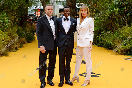 Guy Ritchie, David Banda and Jacqui Ainsley