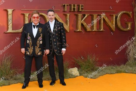 Sir Elton John and David Furnish