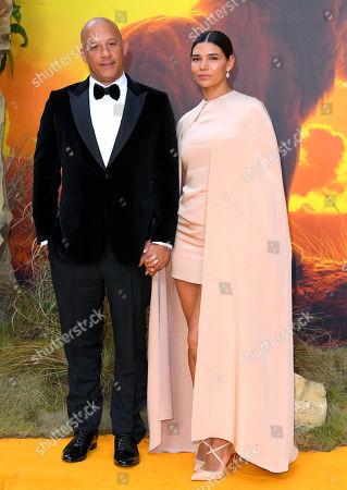 Stock Photo of Vin Diesel and Paloma Jimenez