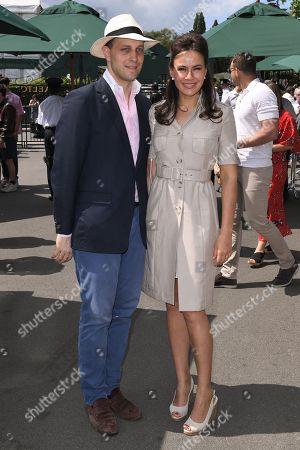 Lord Frederik Windsor and Sophie Winkleman