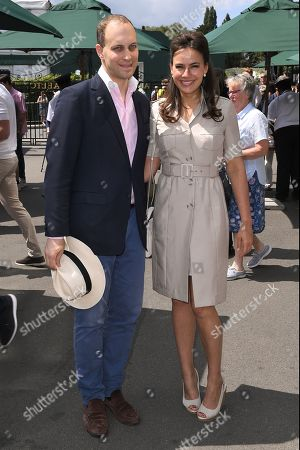 Stock Photo of Lord Frederik Windsor and Sophie Winkleman