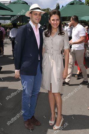 Stock Picture of Lord Frederik Windsor and Sophie Winkleman