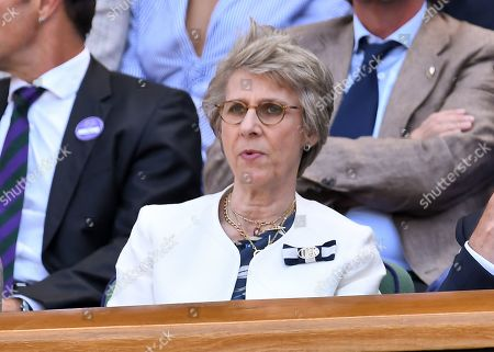 Editorial picture of Wimbledon Tennis Championships, Day 11, The All England Lawn Tennis and Croquet Club, London, UK - 12 Jul 2019