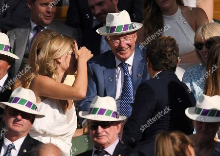 Editorial photo of Wimbledon Tennis Championships, Day 11, The All England Lawn Tennis and Croquet Club, London, UK - 12 Jul 2019