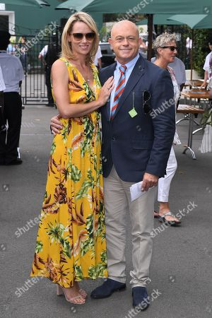 Stock Photo of Ross Kemp and Renee O'Brien
