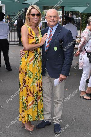 Ross Kemp and Renee O'Brien