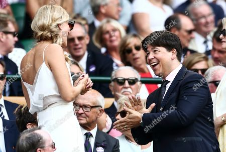 Editorial image of Wimbledon Tennis Championships, Day 11, The All England Lawn Tennis and Croquet Club, London, UK - 12 Jul 2019