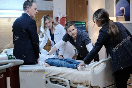Bruce Greenwood as Randolph Bell, Emily VanCamp as Nicolette Nevin, Matt Czuchry as Conrad Hawkins and Daniella Alonso as Zoey Barnett